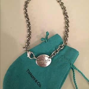 Tiffany & Co. tag Necklace